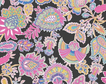Josephine Kimberling Blend Fabrics Chintz Pink Cotton Fabric Dream Catcher India One Yard
