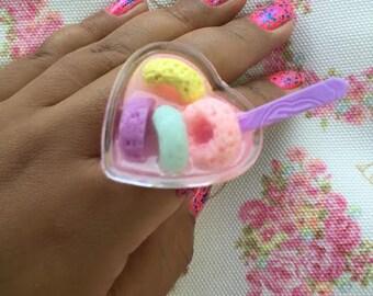 Kawaii Cereal Ring
