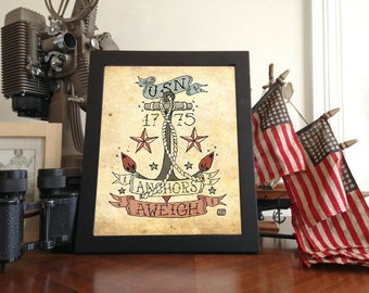 "US Navy ""Limited Edition"" Giclée Print 8x10"