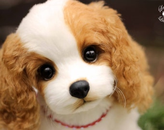 Puppy Cavalier King Charles Spaniel Rachel (made to order)