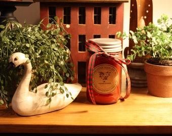 Fresh Roses- Mason Jar Candle