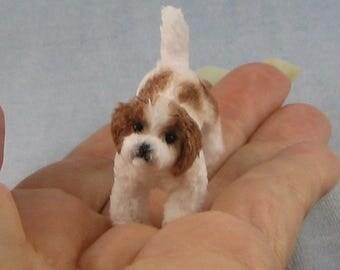 Shih Tzu Soft Sculpture Miniature Dog by Marie W. Evans