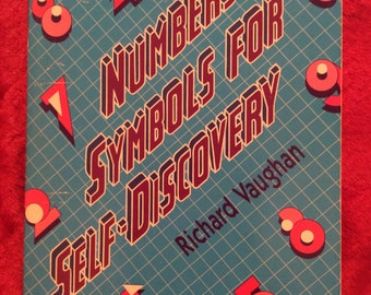 Numbers as symbols for self discovery book Richard Vaughn Pb new rare! 1985 HTF