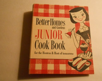 Better Homes and Gardens Junior Cookbook binder edition 1955