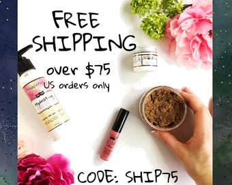 Free Shipping Coupon to Rock Your Moody Skin with natural health & beauty