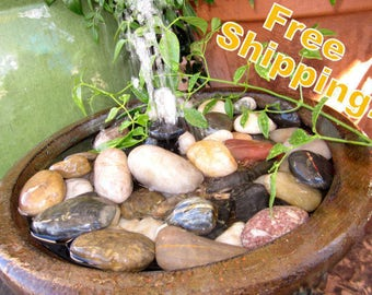 Peaceful Pedestal Water Fountain-  Indoor or Covered Outdoor Water Fountain- Free Shipping