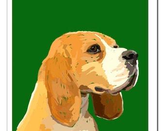 Beagle Print-Pop Art