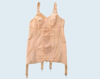 1950s Pink Corset size M