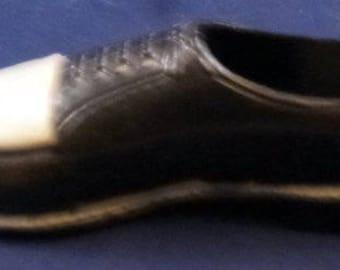 Vintage Salesman's Miniature Men's Oxford Shoe, 1950s