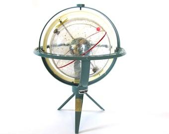 Vintage World Globe Space-Age Sputnik c1960s Mid-Century Torica's Transparent Celestial Sphere