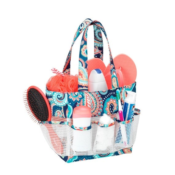 Emerson Paisley Shower Tote
