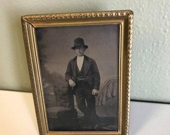 1800s Framed TinType of a Badass