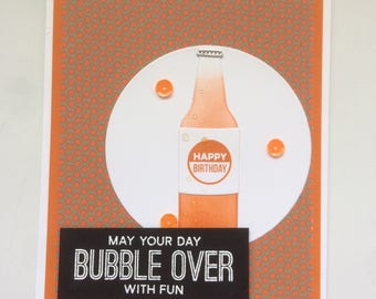 Bubble over with fun soda birthday
