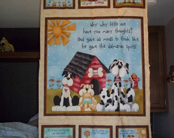 Why quilt panel by Leanne  Anders for Henry Glass