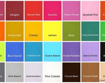 1 yard Bamboo Felt  40 in wide - Choice of Color
