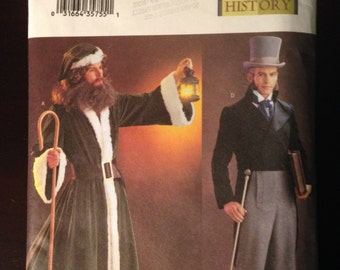 Butterick Pattern 3648 Historical 1800s Costume sizes L XL Holiday