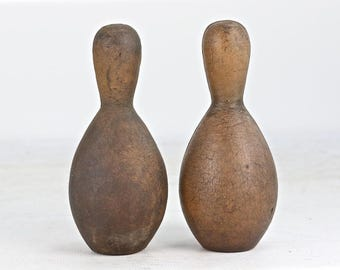 Vintage Bowling Pins, Carnival Game Bowling Pins, Rustic Home Decor, Old Bowling Pins, Bowling Pins, Old Carnival Game