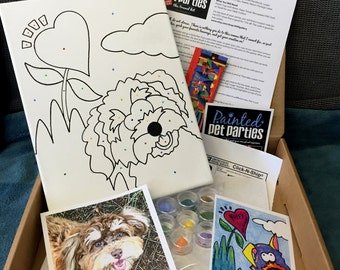 Painted Pet Party Travel Kit