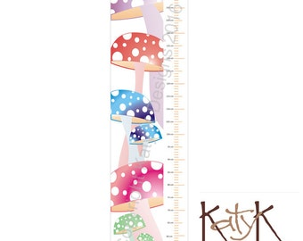 Toadstools - Growth Chart