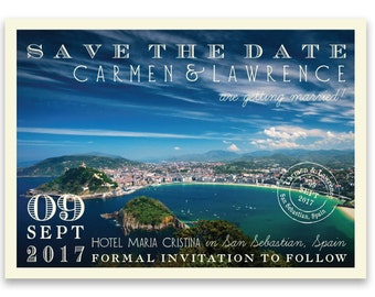 Getaway Save the Date Postcards