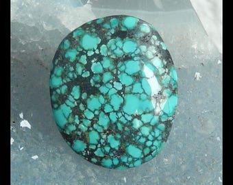 Gemstone Turquoise Cabochon,26x22x5mm,5.5g(d0588)