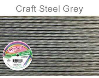 Econoflex Very Fine Steel Gray Wire .010 Diameter  - 30Ft Wholesale Price (11349)/1