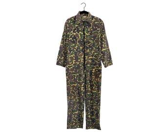 Vintage Camo Game Winner Sportswear 100% Cotton Jumpsuit - Small