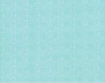 Lulu Lane Turquoise Woven Print 29027 19 by Corey Yoder of Little Miss Shabby for Moda