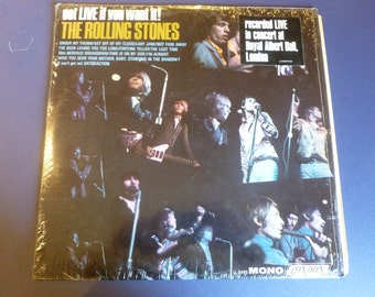 The Rolling Stones Got Live If You Want It Vinyl Record LL 3493 Mono London Records