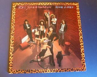 REO Speedwagon Nine Lives Vinyl Record FE 35988 Epic Records 1979
