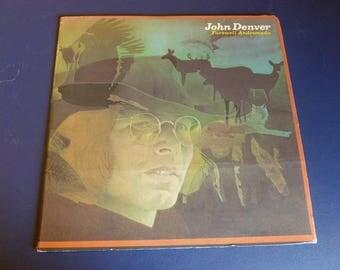 John Denver Farewell Andromeda Vinyl Record LP APL1-0101-B RCA Records 1973