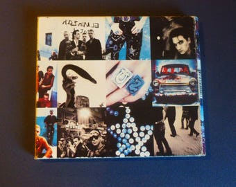 U2 Achtung Baby CD USA Import Rare Digipak First Edition Recorded In Berlin and Dublin 1991