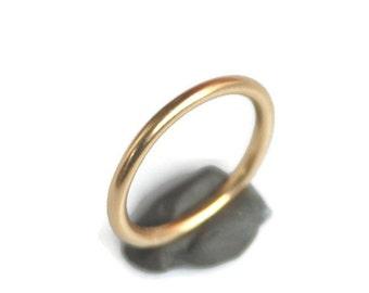 Classic 18k Gold Ring or Wedding Ring