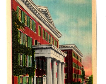 SALEM COLLEGE, Winston Salem North Carolina Vintage Unused Postcard