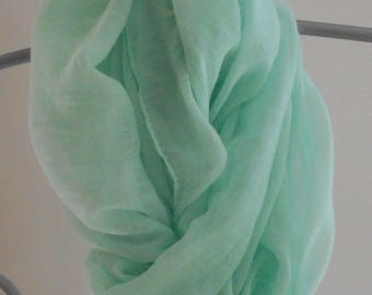 Cotton Scarf,Aqua Fashion Scarf,Blue scarf,Beach Sarong,Summer Scarves,Gifts for her, Wedding Shawl, Prom Shawl,Mothers Day Gift
