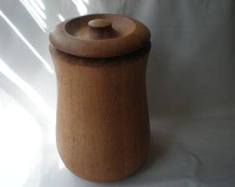Jens Quistgaard Mid Century Teak Wood Ice Bucket for Dansk