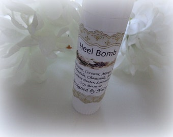 Heel Bomb, Natural Heal Butter for Cracked and Dry Heels, Cracked Hands, Heal Renewing Butter