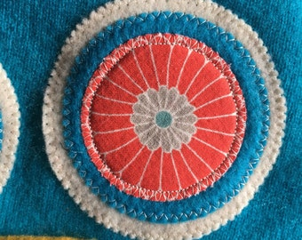 """Hoo Hat  -Size Extra Small (15-17"""" head)- organic cotton lined"""