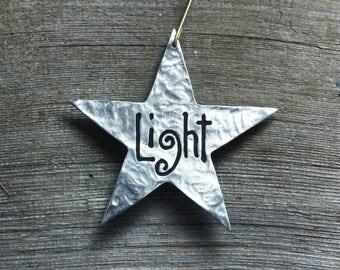 Star ornament - Light