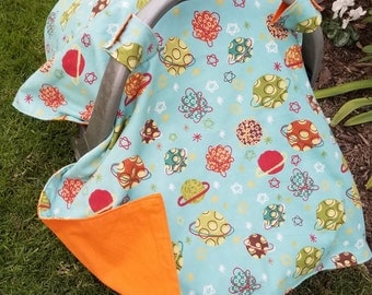 Baby Car Seat Cover Solar System