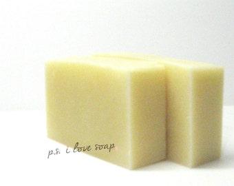 AVOCADO ARGAN Facial Soap l Moisturizing l Non-Drying l Lavender l Silk