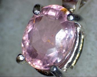 Stunning Pink Tourmaline Pendant