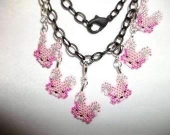 Bunny Pink Charms