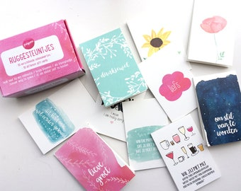 Little gift tags in a box / mini greeting cards / present tags / gift tags / gift box / mini cards / little cards / hang tags / note cards