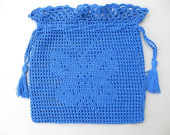 Blue Butterfly Purse