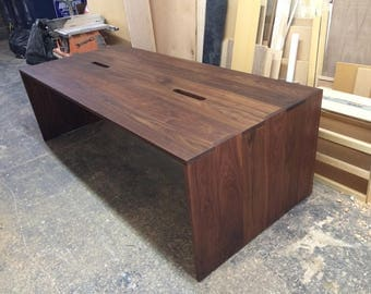 VORK - Walnut Office Table - 96x42x30