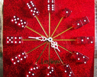 Las Vegas clock, dice clock