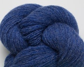 Denim Blue Lace Weight Recycled Cashmere Yarn, CSH00222