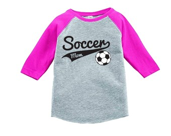 Soccer Mom Shirt sports shirt - Sports Mom Shirt - Pick your colors!