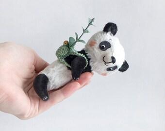 Teddy Mini Panda - 11cm